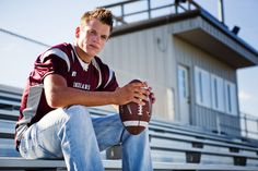 result for boys senior football pictures Football Senior Photos, Football Poses, Football Pictures, Cheer Pictures, Softball Pics, Volleyball Pictures, Senior Boy Poses, Senior Portrait Poses, Male Portraits