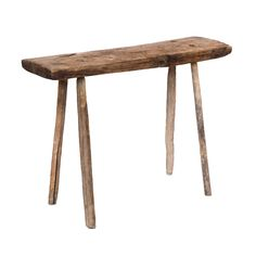 Mayers Table at Found Vintage Rentals. Rustic wooden table