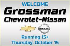 Grossman Chevrolet Nissan running 15+ at Ocean State Auto Auction Thursday, October 15