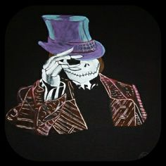Camiseta pintada a mano con pincel. Regalo personalizado.