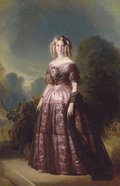 Duchesse D'Aumale- Franz Xaver Winterhalter