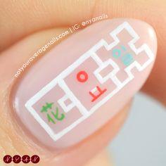 #EXOCBX #BloomingDay Inspired Nail Art