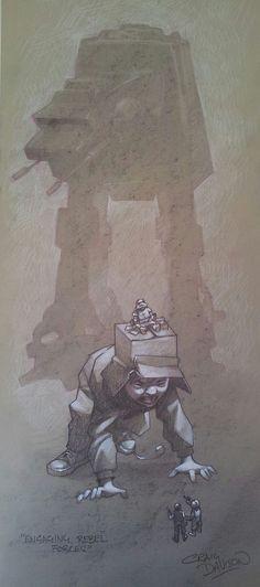 Star Wars - Engaging Rebel Forces by Craig Davison
