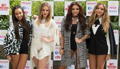 Little Mix Thank Waiter, Get Couple Engaged, Party At Manchester Club After Concert