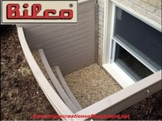 Bilco's ScapeWEL® emergency egress window How to.  Watch Stone Creations of Long Island install a Bilco ScapeWel emergency egress window in Medford, Long Island, New York. (631) 678- 6896 (631) 404-5410 www.stonecreationsoflongisland.net