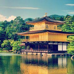 #kyoto #japan #golden #temple