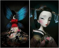 Madame Butterfly. Benjamin Lacombe
