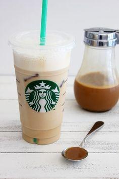 Confession I Run on Coffee… Iced Caramel Latte (starbucks healthy drinks) Iced Caramel Latte Starbucks, Carmel Latte, Café Starbucks, Starbucks Recipes, Coffee Recipes, Milk Recipes, Café Latte, Iced Latte, Iced Coffee