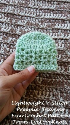 This time last year (2017), I shared free crochet patterns for the Chunky-Like Preemie Baby Beanies , and the Chunky-Like Preemie Granny S...