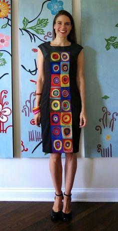 Cassie Stephens: DIY: A Kandinsky-Inspired Dress, Part 2