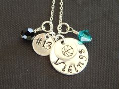 Personalized Sports Necklace Sports Mom by AJewelryJunction, $29.00