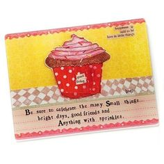 """Amazon.com: Demdaco """"Anything with Sprinkles"""" 12"""" x 15"""" Glass Cutting Board: Kitchen & Dining"""