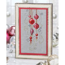 Christmas Ornaments - by Nora Corbett-was published in the Keepsake Calendar 2012