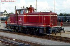 260 389-2 in Saarbrücken Hbf (16.08.82)