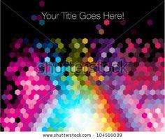 stock-vector-colorful-pixellate-hexagon-design-template-104516039.jpg (450×380)