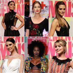 As maquiagens de Juliana Paes, Marina Ruy Barbosa e mais famosas na festa de lançamento da novela Totalmente Demais