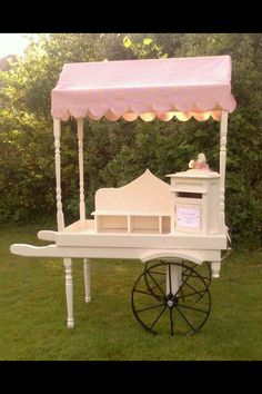 Our sweetie buffet cart and post box :-)