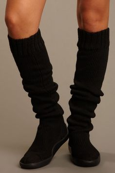 """Solid 26"""" Knit Boot by Gypsy05 on @HauteLook These look soooo cozy, want!"""