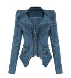 LookbookStore Sharp Power Studded Shoulder Notched Lapel Denim Jeans Tuxedo Coat Blazer Jacket Blue S LookbookStore,http://www.amazon.com/dp/B00B8KLGBI/ref=cm_sw_r_pi_dp_FFuqrb1N7S4SSBKN