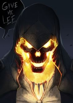 """otlgaming: """" Assassin's Creed + Ghost Rider Mashup - by Diana da Costa """" So much notes on this. I may fail at finding the words to express how I feel about that, but one sure thing : these are way not my last artworks. Dark Fantasy Art, Dark Art, Spirit Of Vengeance, Ghost Rider Marvel, Ghost Rider Movie, Skull Wallpaper, Art Anime, Marvel Art, Ms Marvel"""