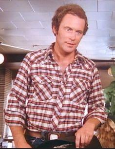 "JARED MARTIN as ""Dusty Farlow"" (Season 3, Episode 9--Mastectomy Pt. 1) Dallas Tv Show, Season 3, Tv Series, Tv Shows, Men Casual"