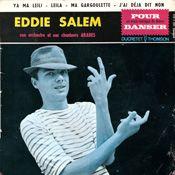 1960: de eerste 45t van Georges Moustaki (et ses  chanteurs arabes) uitgebracht onder de naam Eddie Salem.