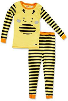 SkipHop Zoo Bee Pajamas, size 5