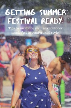 With summer festivals currently in full swing, I thought it would be timely to share everything I know, as a seasoned festival goer, to help you prepare for a summer festival. Click through to read my ultimate guide to preparing for summer festival season! | Camels & Chocolate #summerfestivals #festivaltips #festivalprep #festivalseason