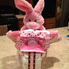 Baby shower tricycle made by me!!!