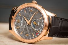 <strong>The Most Extraterrestrial - Jaeger-LeCoultre Master Calendar Meteorite Dial</strong>