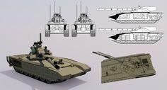 HS-81 Main Battle Tank by TheoComm.deviantart.com on @DeviantArt
