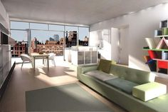 256 West 17th street is a NYC condo consisting of 10 floors with 34 apartments built in 2007