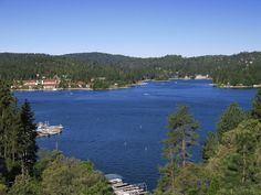 Lake Arrowhead, CA is really beautiful.  Great travel destination!