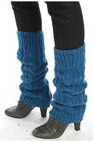 "leg warmers...in the 80's were wore our ""boot socks"" on the outside!!!"