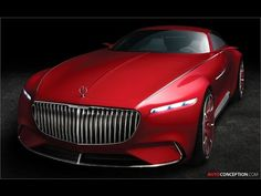 Vision Mercedes-Maybach 6 Concept Officially Revealed - AutoConception.com