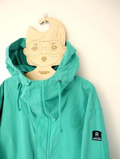Loving my new parka by R-collection and the hanger by Poola Kataryna. All Finnish design, from bottom to the top.