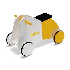 Aatin ostoslistalla Brion potkumopo, tämä keltainen olisi pirteä
