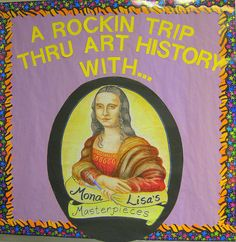 "Great art history ""map"" for the classroom! Cassie Stephens: In the Artroom: The Art History Wall"