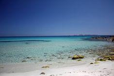 Cala Pira!!! Almost like the Caribbean!