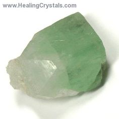 Physically, Green Apophyllite helps to remove toxins from the body, be it physical or emotional and aids in the recovery from illness.  Use Green Apophyllite when creating any type of healing environment.