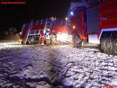 LKW-Bergung in Stainz #feuerwehr #schnee #snow #austria