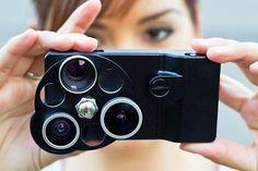 Rotating Smartphone Accessories  The iPhone Lens Dial Enhances Cellphone Camera Capabilities