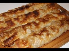 Kako napraviti burek - how to make burek pita - YouTube