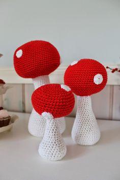 Engang imellem, bliver jeg spurgt om jeg kan hækle en bestemt opgave.Disse svampe lovede jeg at...