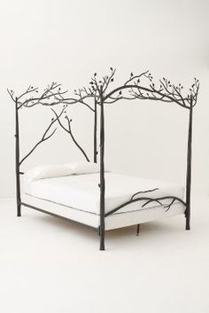 Anthropologie Forest Canopy Bed  #anthrofave #anthropologie