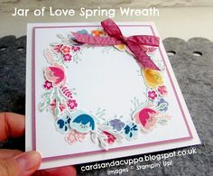 NEW Jar Of Love Spring Wreath with Video Tutorial!