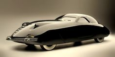 The Phantom Corsair is a prototype automobile built in 1938. It is a six-passenger coupé that was designed by Rust Heinz of the H. J. Heinz family and Maurice Schwartz of the Bohman & Schwartz coachbuilding company in Pasadena, California.