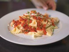 Farfalle With Gorgonzola Sun-Dried Tomato Sauce Recipe — Dishmaps
