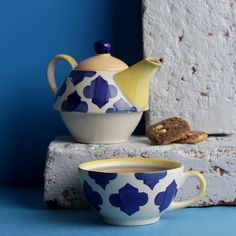 986c6a9c958 Stone age styling and modern boho style tea pot and cup