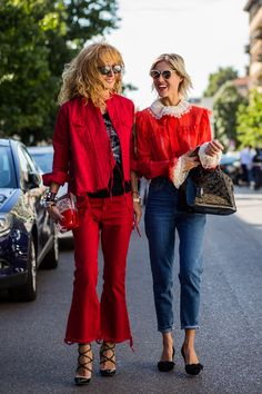 We've selected the most coveted Milan street style, fresh from the SS16 shows…